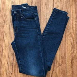 Gap 1969 resolution true skinny rich indigo 25r